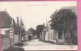 Saint-Flavy -  Grande Rue - France