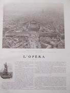 L Opéra  Et Le Quartier De L Opéra  PARIS  17 Photos  1906  Theatre Cordonnier Tapissier  Armurier Danse - Vieux Papiers