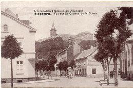 L' Occupation Française En Allemagne - SIEGBURG - Vue Sur La Caserne De La Marne  (93854) - Personen