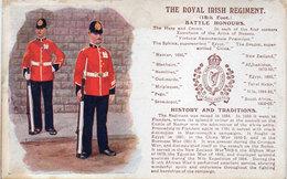 The Royal Irish Regiment - Battle Honours  (93856) - Régiments