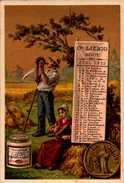 1 Chromos Liebig - S189 - Calandrier Aout 1887 - Bill-239 - R/V - Liebig