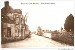 Village De BOURG-PHILIPPE - 53 Mayenne - Route De SAINT-QUENTIN - France
