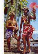TAHITI Danseuse Tahitienne Photo Sounam - Polynésie Française