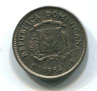 1984 Dominican Republic 5 Centavos Coin - Dominicana