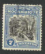 Mozambique Company, 7 C. 1923, Scott # 123, Used - Mozambique
