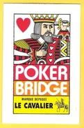 Poker Bridge Roi De Coeur - Marque Déposée Le Cavalier - Cartes à Jouer Classiques
