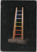 ANTONIO PETICOV, Scala Cromatica, 1987 Used Postcard [19208] - Sculptures