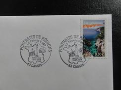 Calanques De Cassis - YT 3708 - Cachet PJ De 13 Cassis - Thème : Moulin, Phare - France