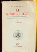 Le Nombre D'or    Matila C.ghyka     1931 - 1901-1940