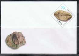 NORTH KOREA 2013 FOSSILS STATIONERY - Fossils