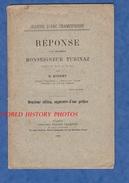 Livret De 1899 - à Propos De JEANNE D'ARC Champenoise - Réponse à Msgr TURINAZ évêque De Nancy Par E. Misset Professeur - Lorraine - Vosges