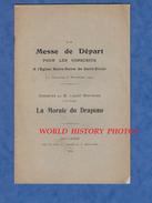 Livret Ancien De 1904 - SAINT DIZIER ( Haute Marne )- Messe De Départ Pour Les Conscrits à L'Eglise Notre Dame - Drapeau - Champagne - Ardenne