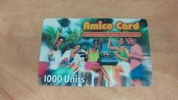 Israel-amico Card-international Prepiad Calling Card-(1000units)-mint Card - Israel
