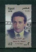 EGYPT / 2016 / NOUR EL SHERIF / FAMOUS EGYPTIAN CINEMA STARS / FILM / ACTORS / CINEMA / MOVIES / MNH / VF - Nuovi