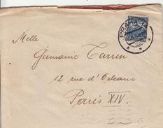 Lettre De Tchécoslovaquie  Vers La France - Postmark Collection (Covers)
