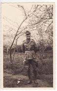 Carte Photo Militaire Allemand UNIFORME AFRIKA KORPS Soldaten Wehrmacht  2 éme GUERRE 1939-1945 Allemand Italien 1941 - Guerre 1939-45