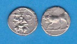 COLONIA FENICIA HEMIDRACMA Púnico Plata Ebusim II Guerra Púnica 218-200 A.C. Réplica  SC/UNC    DL-11.994 - Antiche