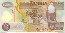 ZAMBIA 500 KWACHA 2008 P-43f UNC [ZM145f] - Zambia