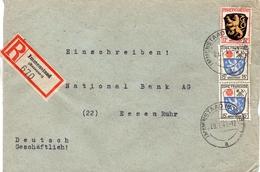 Allemagne Zone Française   Lettre Recommandée Immenstaad 1946 - Zona Francesa