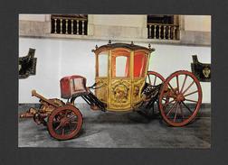 TRANSPORTS - MUSEU NACIONAL DOS COCHES LISBOA PORTUGAL - CAROSSE DES MENINOS DE PALHAVA XVIIIe SIÈCLE - Cartoline