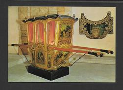 TRANSPORTS - MUSEU NACIONAL DOS COCHES LISBOA PORTUGAL - LITIÈRE DU XVIIIe SIÈCLE - Cartoline
