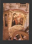 TRANSPORTS - MUSEU NACIONAL DOS COCHES LISBOA PORTUGAL - CARROSSE DE LA REINE MARIA ANA DE AUSTRIA XVIIIe SIÈCLE - Cartoline