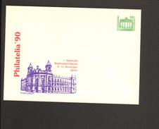 DDR 50 Pfg. Ganzsache 1990.Briefmarkenmesse Berlin Philatelia Postmuseum - [6] Repubblica Democratica