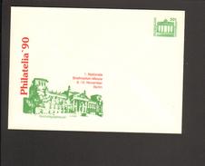 DDR 50 Pfg. Ganzsache 1990.Briefmarkenmesse Berlin Philatelia Reichstagsgebäude - [6] Repubblica Democratica