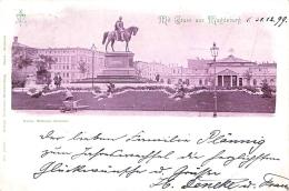 Magdeburg / Color Gel.1899 Kaiser Wilhelm Denkmal - Magdeburg
