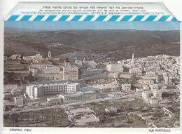 Israel: Mint Illustrated Aerogramme: Bethlehem - Israel