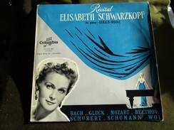 Récital Elisabeth Schwarzkopf Au Piano: Gerald Moore LP 33 T - Opera