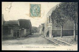 Cpa Du 91 Itteville  Rue Saint Germain    YPO5 - France