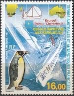 TAAF 1997 Yvert PA142 Neuf ** Cote (2015) 7.20 Euro Voilier Ecureuil Poitou-Charente 2 - Poste Aérienne