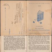 Allemagne 1945. Livret De Franchise, Feldpost. Plaute Au Couvent Des Femmes, Bible Sur La Couverture - Abbeys & Monasteries