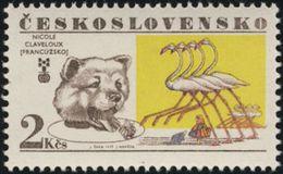 "Czechoslovakia / Stamps (1977) 2270: Biennale Of Illustrations Bratislava, Nicole Claveloux ""Alice In Wonderland"" - Contes, Fables & Légendes"