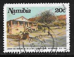Namibia, Scott # 702 Used Tourist Camp, 1991 - Namibia (1990- ...)