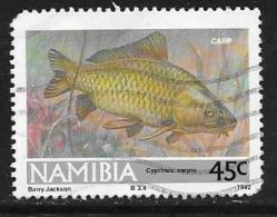 Namibia, Scott # 712 Used Fish, 1992, Round Corner - Namibia (1990- ...)