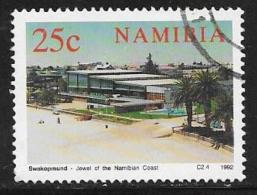Namibia, Scott # 715 Used Swimming Pool, 1992 - Namibia (1990- ...)