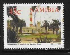 Namibia, Scott # 716 Used Lighthouse, 1992 - Namibia (1990- ...)