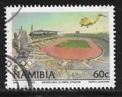 Namibia, Scott # 721 Used Olympic Stadium, 1992 - Namibia (1990- ...)
