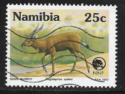 Namibia, Scott # 727 Used Endangered Animal, 1993 - Namibia (1990- ...)