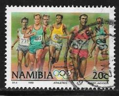 Namibia, Scott # 718 Used Runners, 1992 - Namibia (1990- ...)