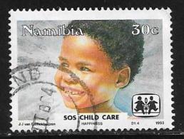 Namibia, Scott # 738 Used SOS Child Care, 1993 - Namibia (1990- ...)