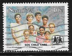 Namibia, Scott # 739 Used SOS Child Care, 1993 - Namibia (1990- ...)