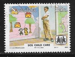 Namibia, Scott # 741 Used SOS Child Care, 1993 - Namibia (1990- ...)