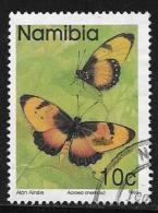 Namibia, Scott # 743 Used Butterflies, 1993 - Namibia (1990- ...)