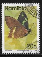 Namibia, Scott # 744 Used Butterflies, 1993 - Namibia (1990- ...)