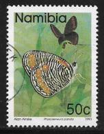 Namibia, Scott # 747used Butterflies, 1993 - Namibia (1990- ...)