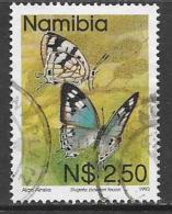 Namibia, Scott # 753 Used Butterflies, 1993 - Namibia (1990- ...)
