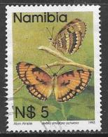 Namibia, Scott # 754 Used Butterflies, 1993 - Namibia (1990- ...)